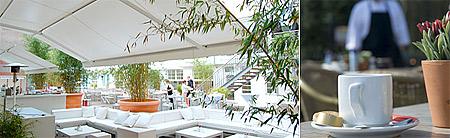 Markisen für Terrasse und Gastronomie